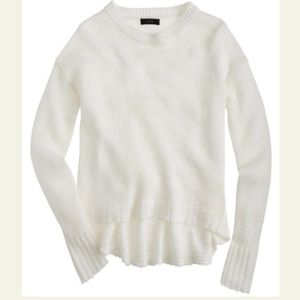 J. Crew Long Sleeve Textured Beach Sweater M